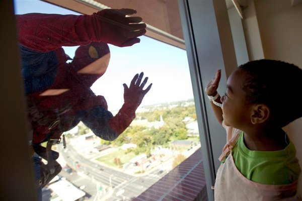 Spider-Man Window Washers