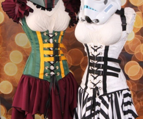 Star Wars Corsets: May the Force Be With Your Cinched-Up Waist