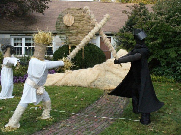 Star Wars Scarecrows Straw Wars Nothing But Straw Wars