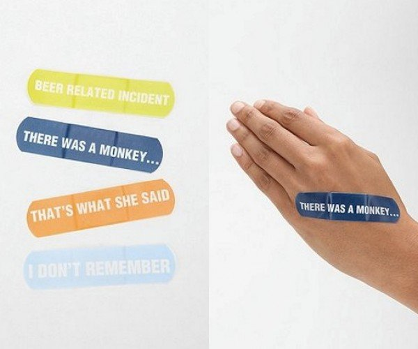 What Happened Last Night? These Bandages Will Give You the Perfect Excuses