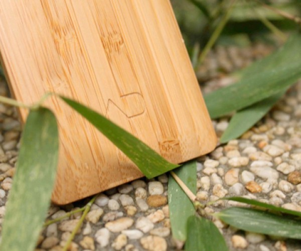 ADzero Bamboo Phone Heads for Kickstarter Funding