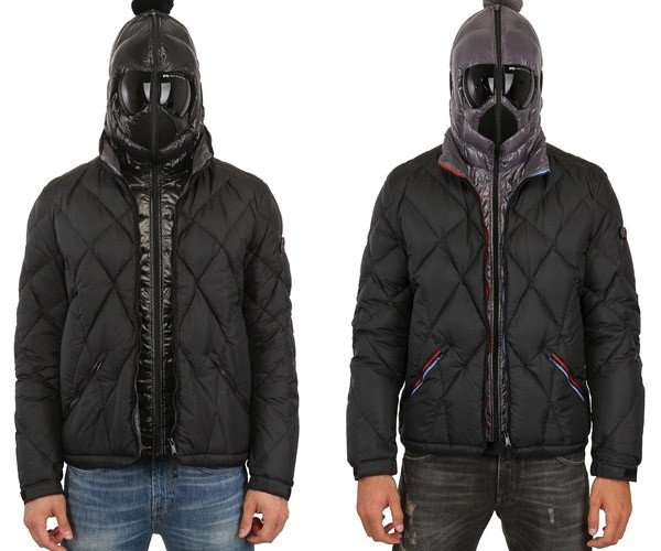 Jackets with Integrated Goggles Will Shield Your Eyes While Freaking People Out