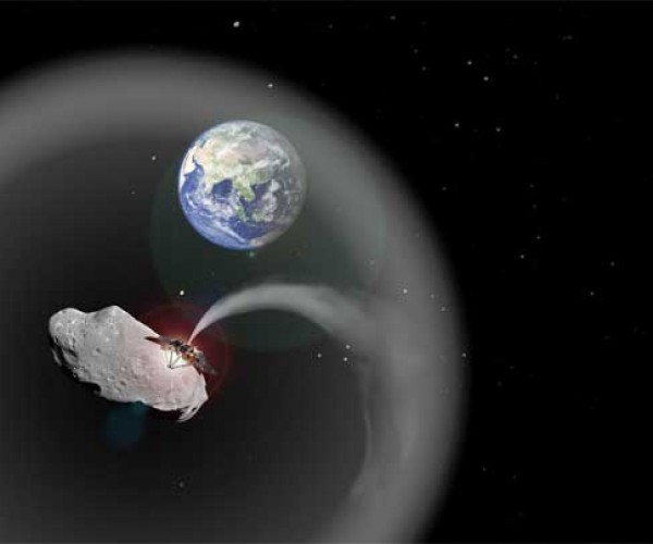 Asteroid Dust Cloud Could Be Used to Fix Global Warming