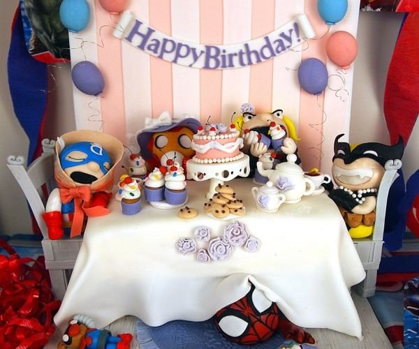 Avengers Tea Party Cake: Is There an Avengers Babies Series in Our Future?