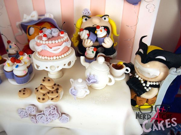 avengers tea party cake  is there an avengers babies series in our future