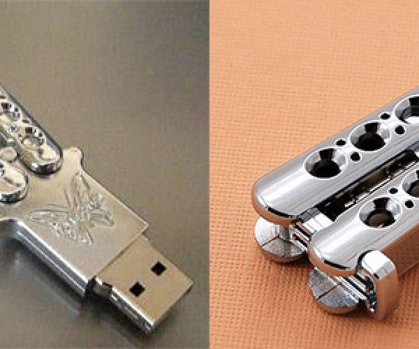 Stab Your PC with a Butterfly Knife USB Drive