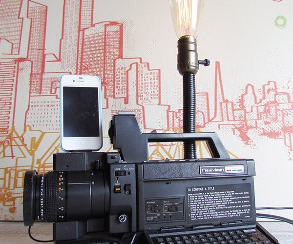 1980s Camcorder Recycled into Craziest iPhone Dock Yet