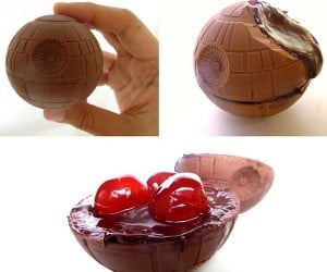 Chocolate Cherry Death Star Explodes in Your Mouth