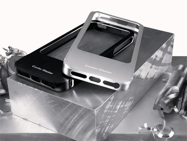 cooler master aluminum bumper iphone 5 case