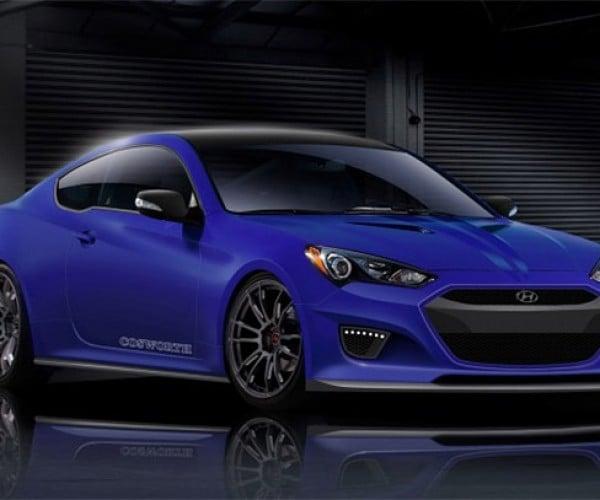 Cosworth Amps up Hyundai Genesis for SEMA 2012