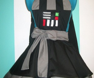 Darth Vader Pinafore: Dress Like a Dark Lord in this Dark Dress