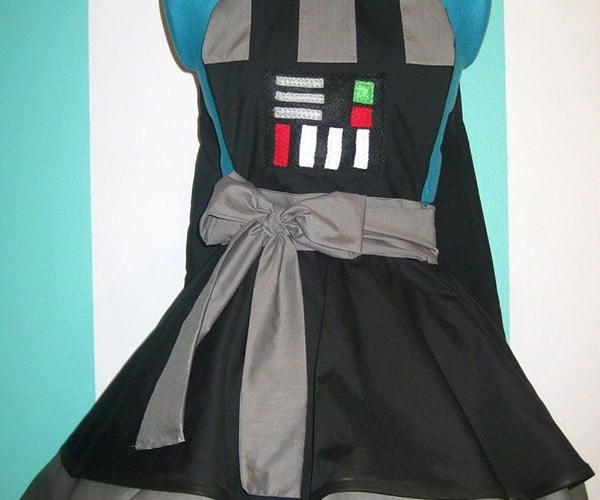 Darth Vader Pinafore: Dress Like a Dark Lord in this Dark Dress
