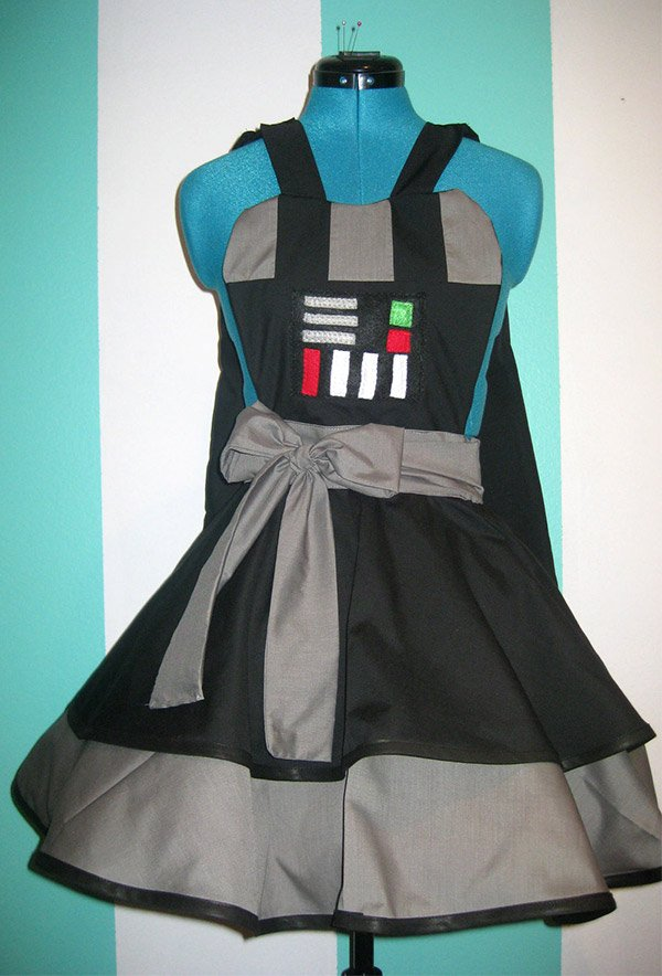 darth vader pinafore dress 1
