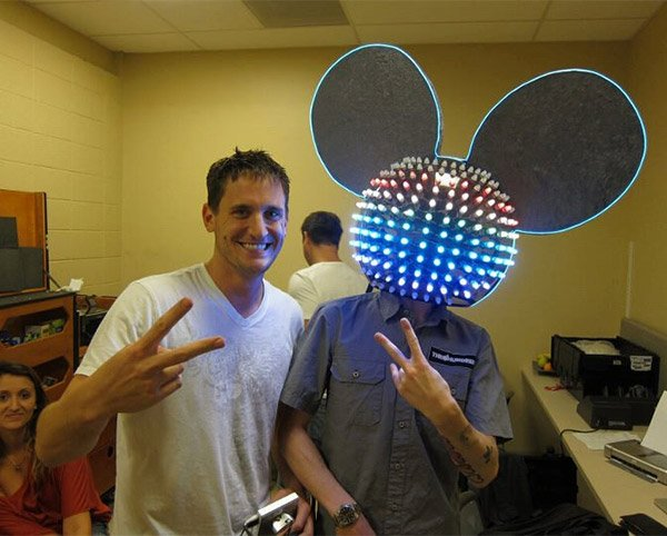deadmau5 replica mau5head helmet