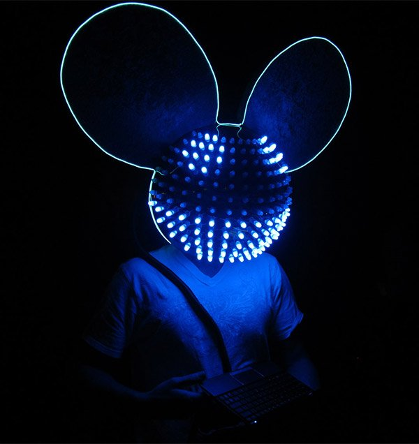 deadmau5 replica mau5head helmet 2