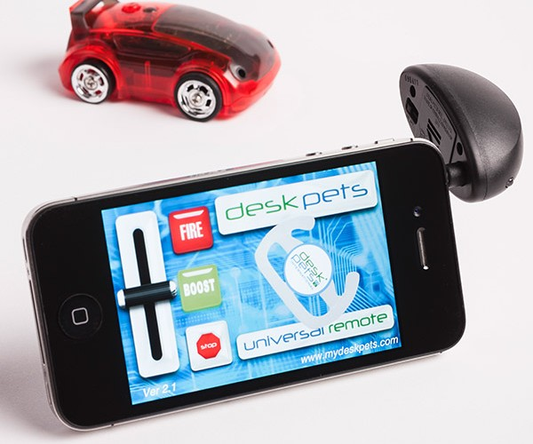CarBot R/C Car Driven by Tablet or Smartphone