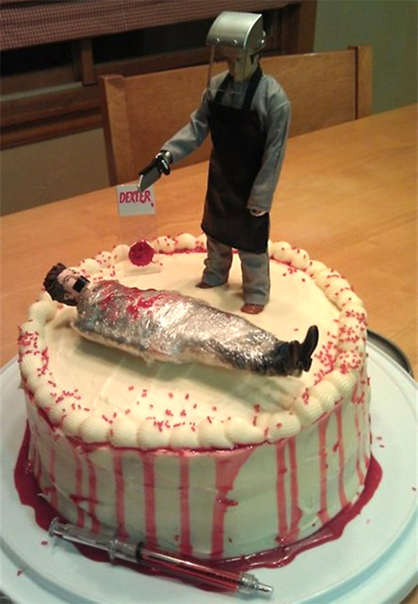 dexter kill room cake