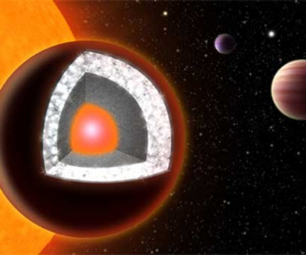 "Newly Discovered ""Super-Earth"" is a Really a Diamond in the Sky"