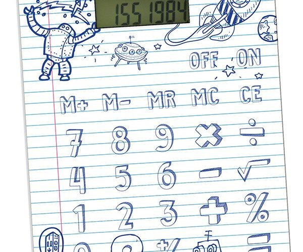 DIY Calculator Lets You Draw Your Own Keys