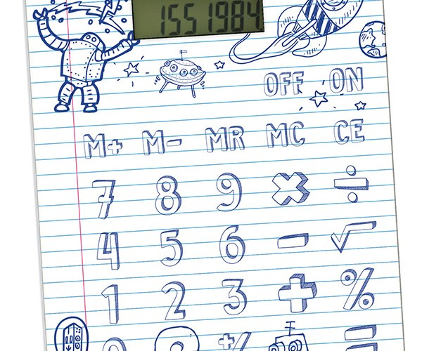 DIY Calculator Lets You Draw Your Own Keys