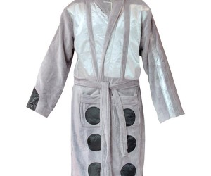 Doctor Who and Dalek Bath Robes for Nerdy Relaxin'