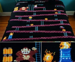 8-Bit Game Blankets Keep You Warm with Plenty of Pixels