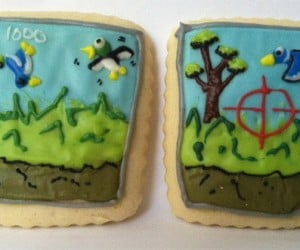 duck hunt cookies 300x250
