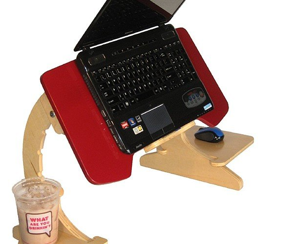 ErgoArc 2 Laptop Tray: Because Bed > Chair