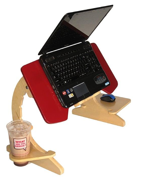 ergoarc 2 laptop desk tray