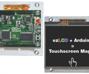 ArduinoLCD Makes DIY Projects Needing a Touchscreen Display Easier