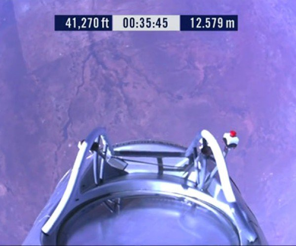 Red Bull Stratos Launch, Live!