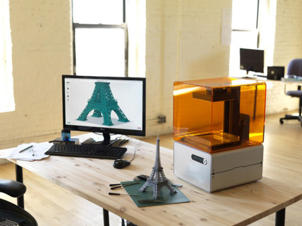 form 1 3d printer formlabs kickstarter desktop