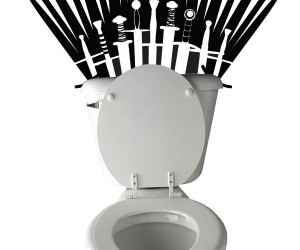 Game of Thrones Toilet Decal: Brace Yourselves, Poop is Coming