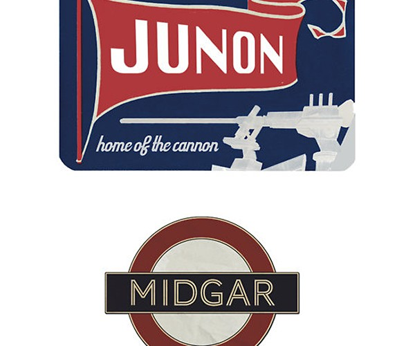 gaming luggage labels by aj hateley 7