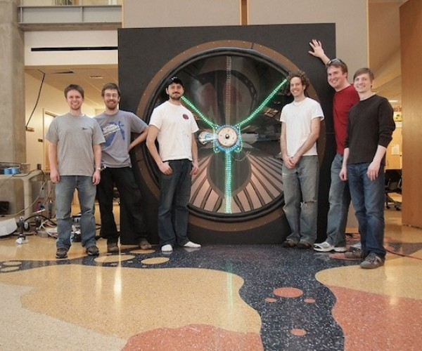 UW Team Builds Massive Speaker, Makes Marty McFly Jealous