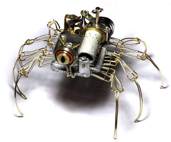 Musical Spider-Bot Will Keep You up at Night