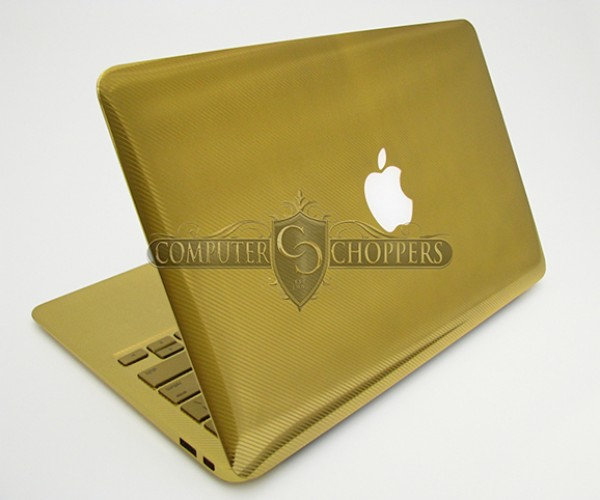 gold macbook air computer choppers 2