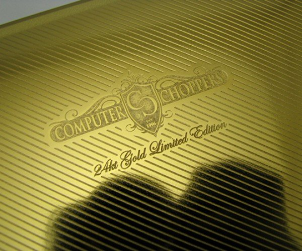 gold macbook air computer choppers 9