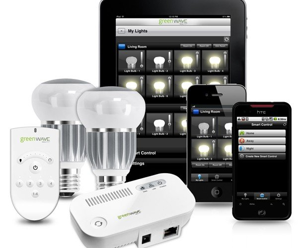 Greenwave Wi-Fi Controlled LED Light Bulbs: Screw & Play