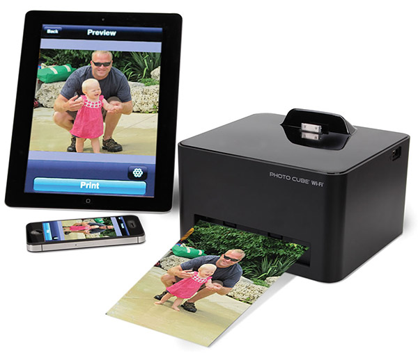 hammacher wireless printer