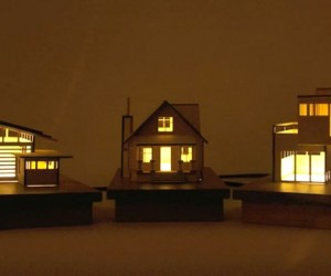 House-Lamps: Little House on the Table