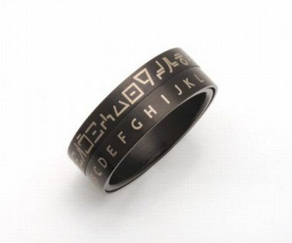 Star Wars Huttese Translator Ring Lets You Text Message with Jabba