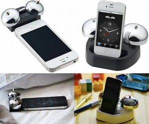 iBell iPhone Alarm Dock Might Make You Throw Your Phone Away