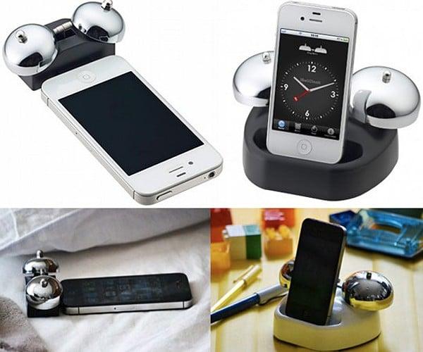 iBell iPhone Alarm Dock Might Make You Throw Your Phone Away