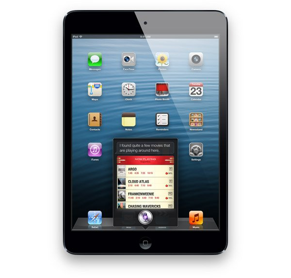 ipad mini siri