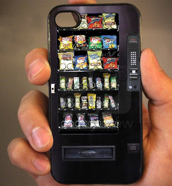 iPhone Mini Vending Machine Case Won't Eat Your Money