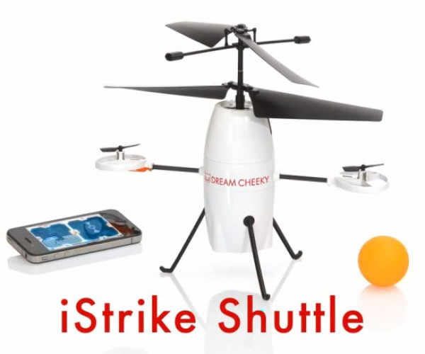 iStrike Shuttle iOS Drone Drops Ping Pong Balls