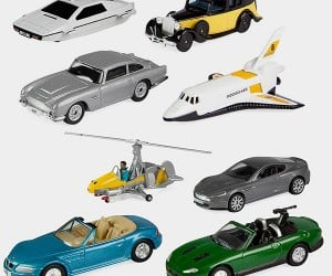 James Bond 007 Miniature Vehicles Set: Q-Approved
