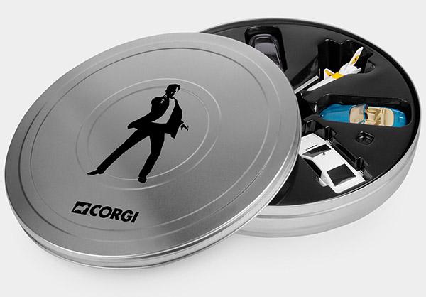 James Bond 007 Miniature Vehicles Set Q Approved Technabob