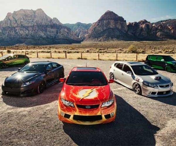 Kia Unveils Four New Justice League Superhero Themed Vehicles